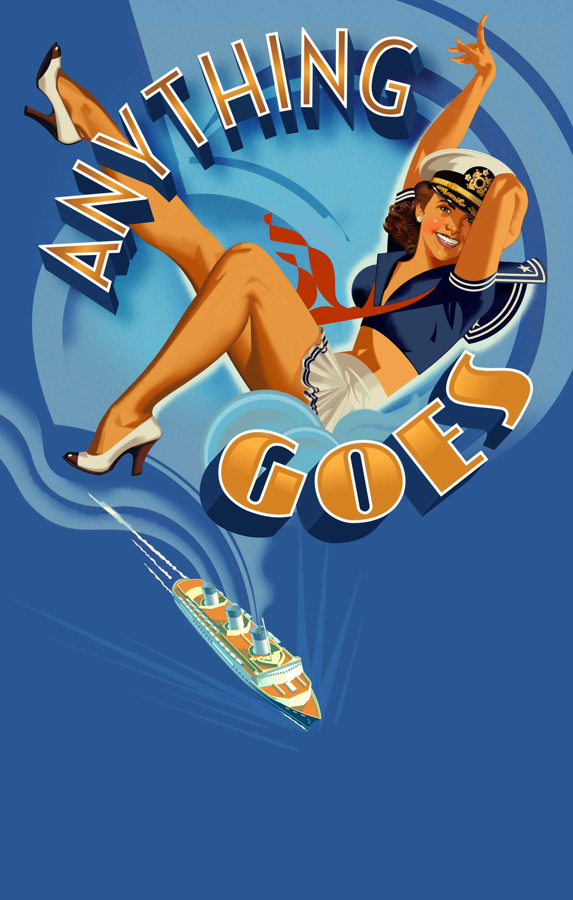 Robert Rodriguez Illustration anything goes sailor girl