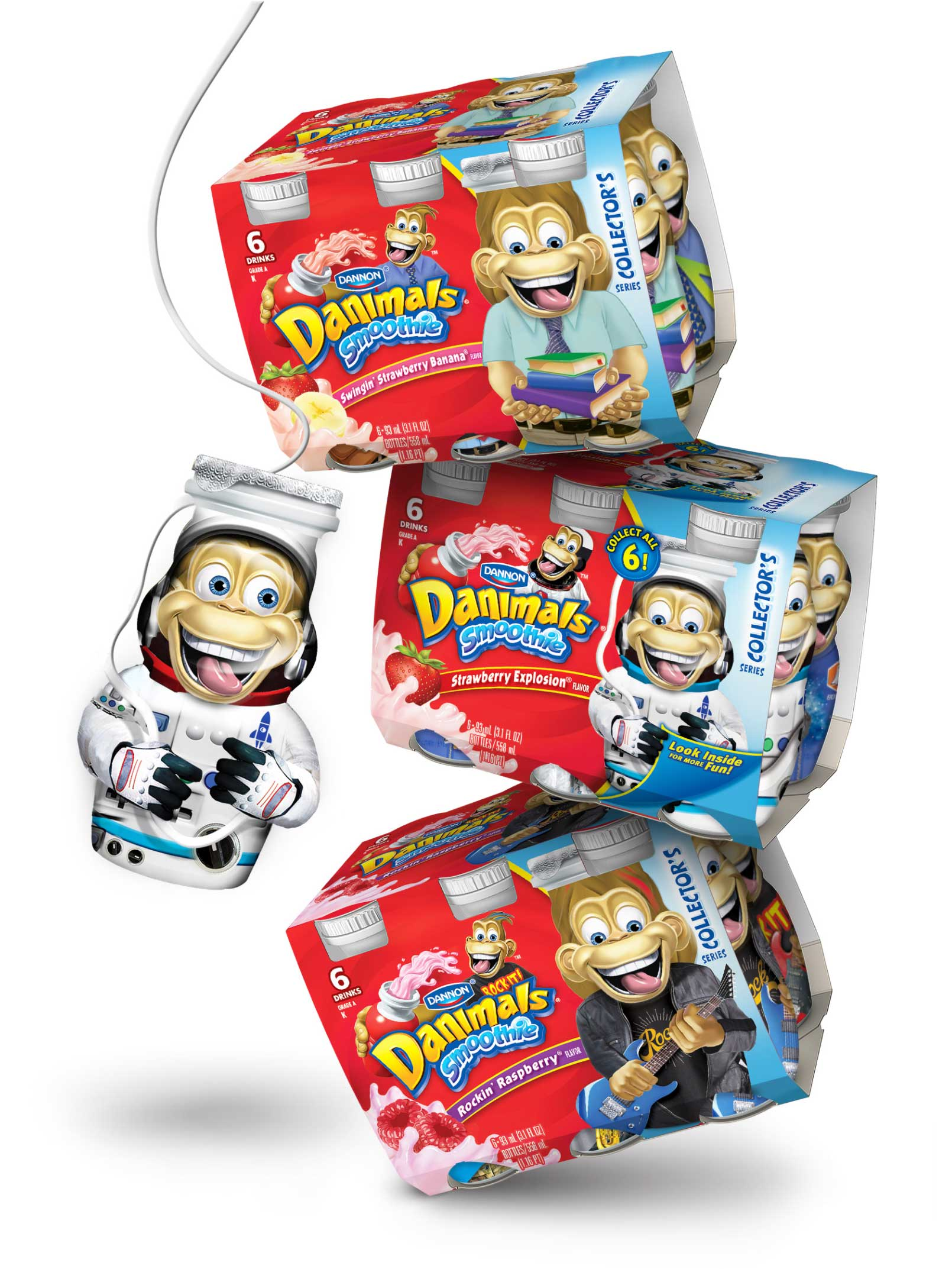 Dannon-Yogurt-Danimals-Smoothies-with-Monkey-Characters