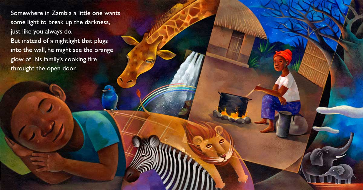 Jui Ishida Illustration Goodnight Zambia