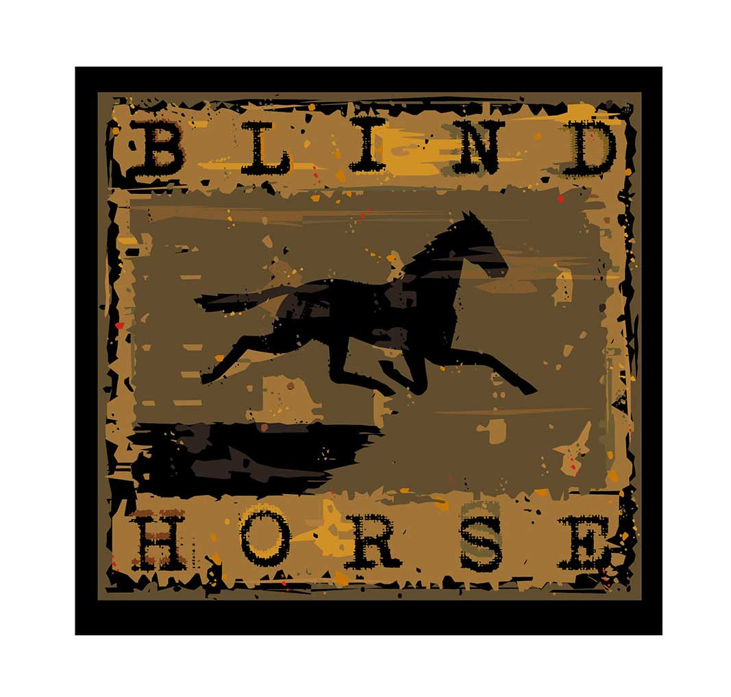 Kelly Hume Illustration blind horse