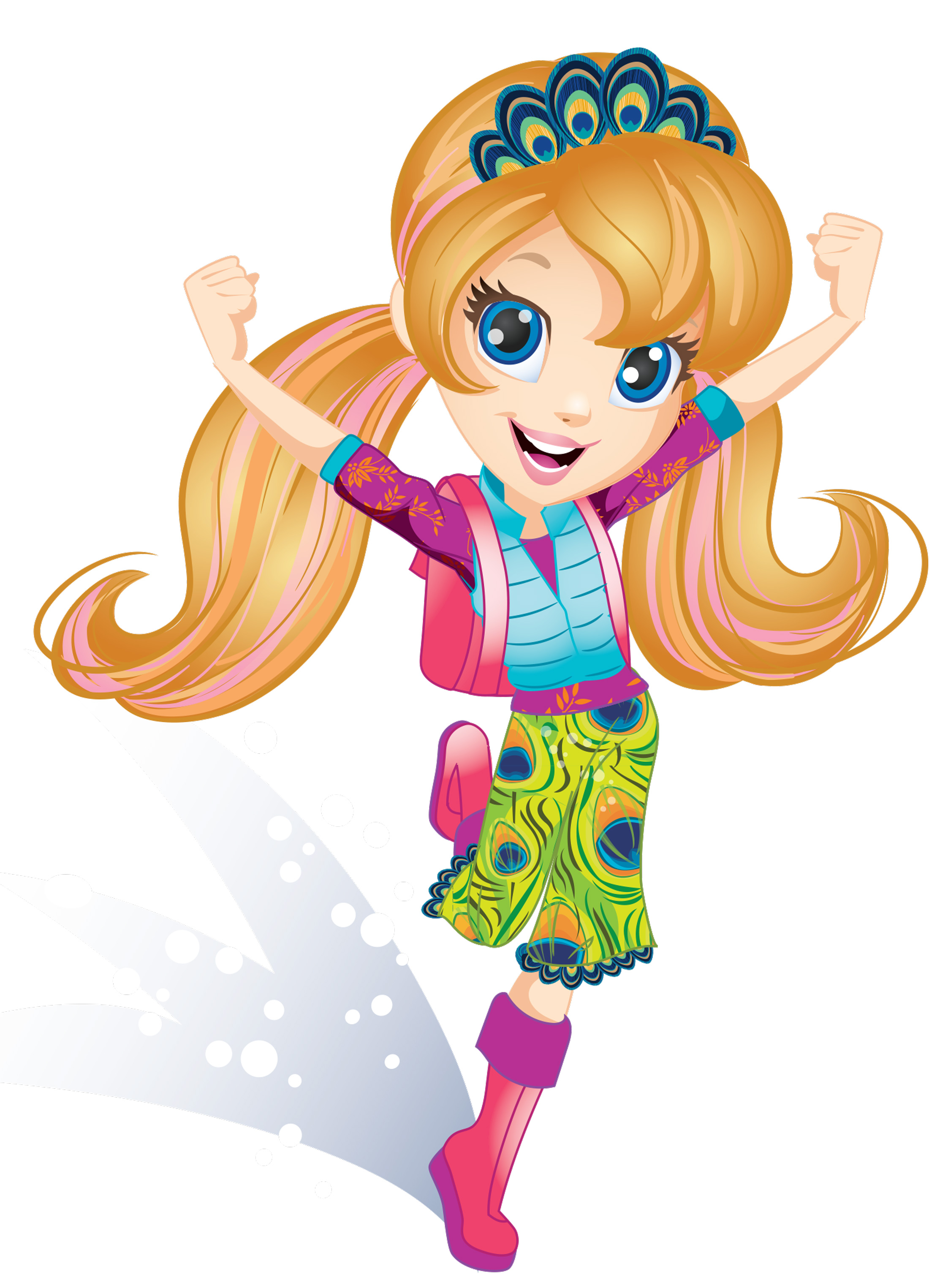 Mona Daly Illustration Polly Pocket Character