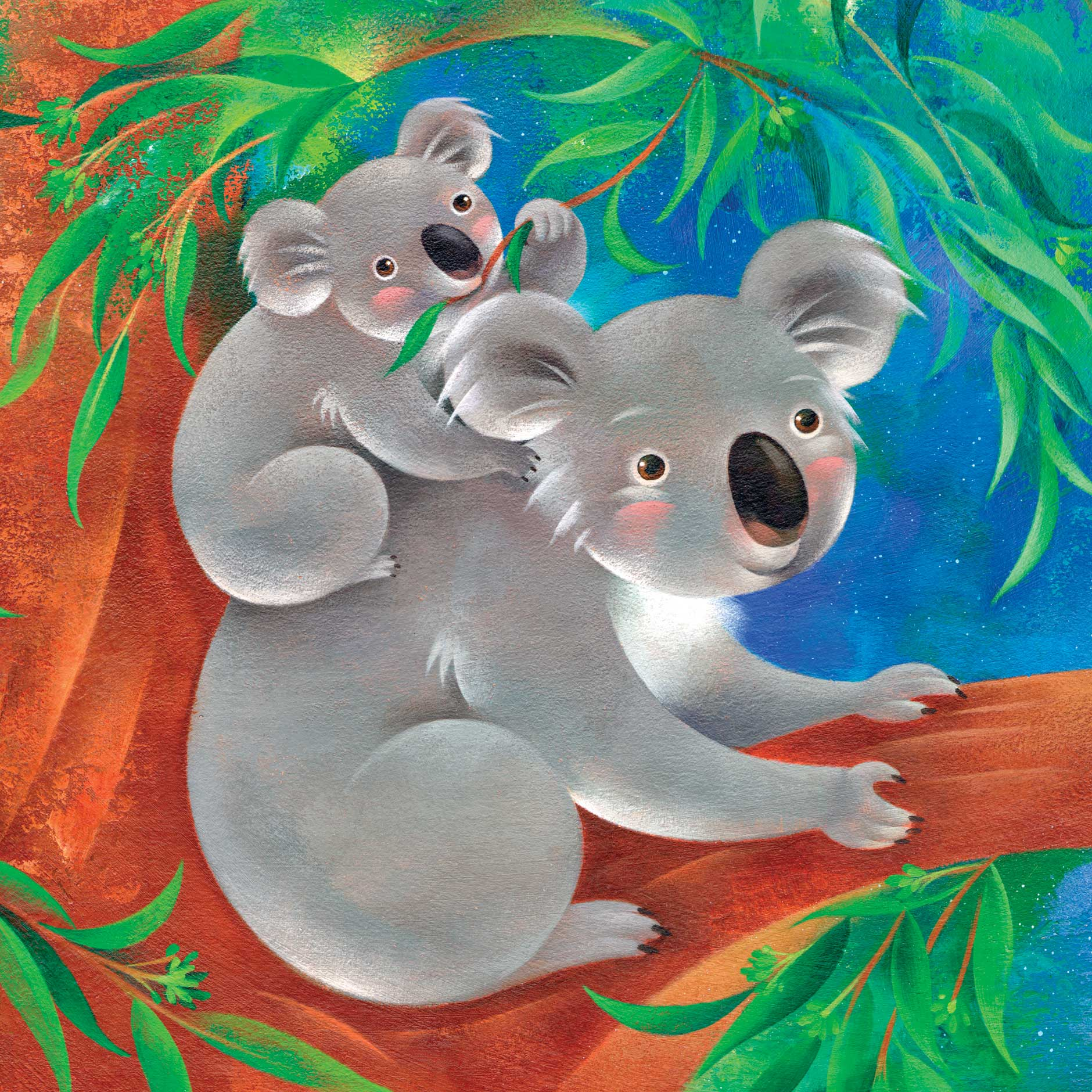 Jui Ishida Illustration Sleepy Koala bears