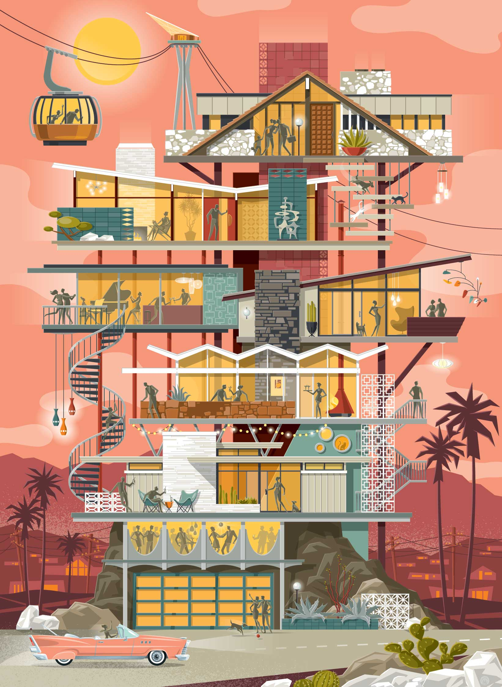 Chris Musselman Illustration Palm Springs